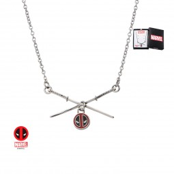 Marvel Deadpool Sword Logo Pendant