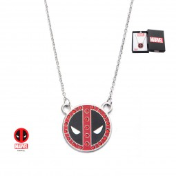 Marvel Deadpool Gem Pendant Necklace