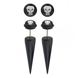 Marvel Punisher Faux Tapers