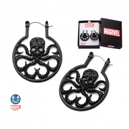 Marvel Hydra Hoop Earrings