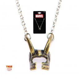 Marvel Loki Helmet Pendant