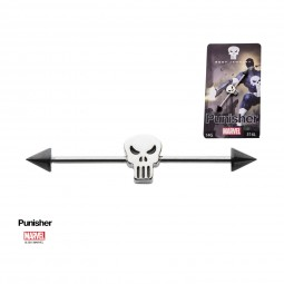 Marvel Punisher Barbell Stainless Steel