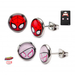Marvel Spider-Gwen Earring Set