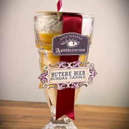 Miss Malyss Apothecarius Limited Edition Butere Beer Candle