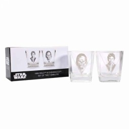 Star Wars Han Solo Set of 2 Tumblers