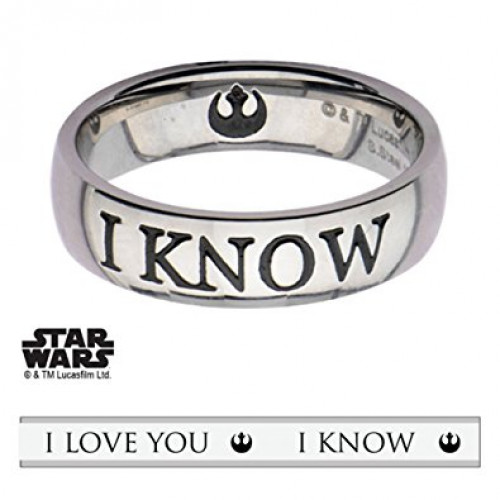 Star Wars I Know Ring