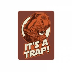 Star Wars Metal Magnet It's A Trap