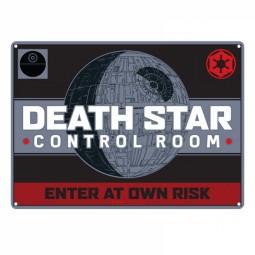 Star Wars Tin Sign Death Star