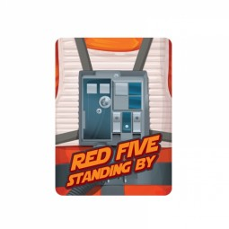 Star Wars Metal Magnet Red Five