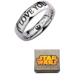 Star Wars I Love You Ring