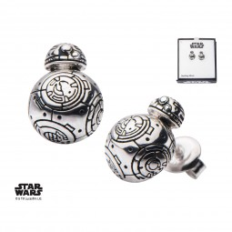 Star Wars Sterling Silver BB8 Earrings