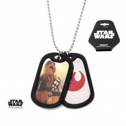 Star Wars Episode 7 Chewbacca Double Dog Tag