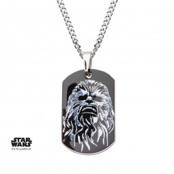 Star Wars Ep 7 Chewbacca Dog Tag