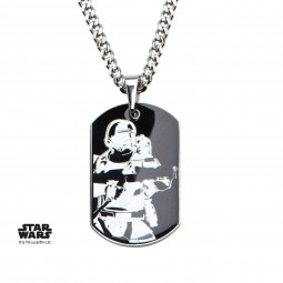 Star Wars Stainless Steel Episode 7 Stormtrooper Pendant