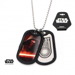 Star Wars Kylo Ren Episode 7 Double Dog Tag