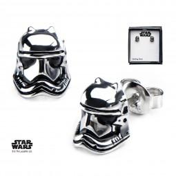 Star Wars Sterling Silver Stormtrooper Earrings