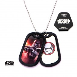 Star Wars Episode 7 Stormtrooper Double Dog Tag
