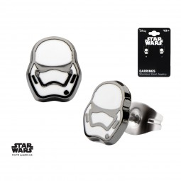 Star Wars Episode 7 Stormtrooper Earrings