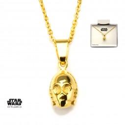 Star Wars C3P0 3d Pendant