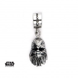 Star Wars Stainless Steel 3d Chewbacca Charm
