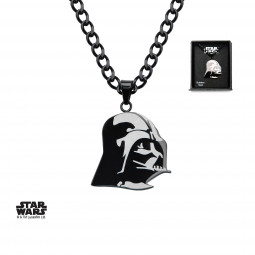 Star Wars Darth Vader Etched Pendant
