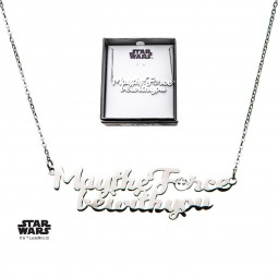 Star Wars May the Force be With You Necklace