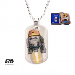Star Wars Kids Rebels Chopper Dog Tag