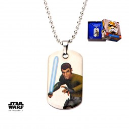 Star Wars Kids Rebels Kanan Dog Tag