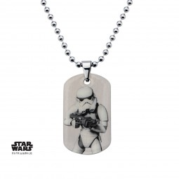 Star Wars Kids Rebels Stormtrooper Dog Tag