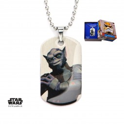 Star Wars Kids Rebels Zeb Dog Tag