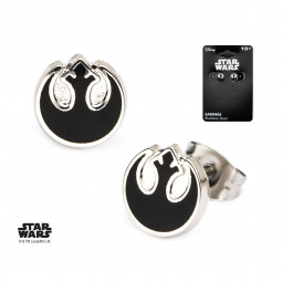 Star Wars Rebel Symbol Earrings