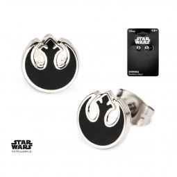 Star Wars Rebel Alliance Symbol Earrings