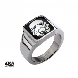 Star Wars Stainless Steel Stormtrooper Ring