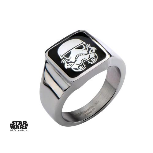 Star Wars Stainless Steel Stormtrooper Ring