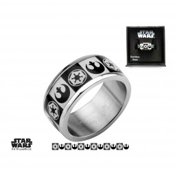 Star Wars Galactic Empire & Rebel Alliance Ring