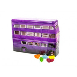Harry Potter Knight Bus Money Tin with Sweets