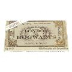 Harry Potter Platform 9 3/4 Ticket Chocolate Bar