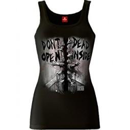 Walking Dead Don't Open Dead Inside Vest Top