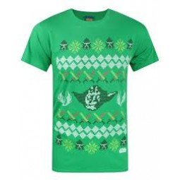 Star Wars Christmas T-Shirt Yoda