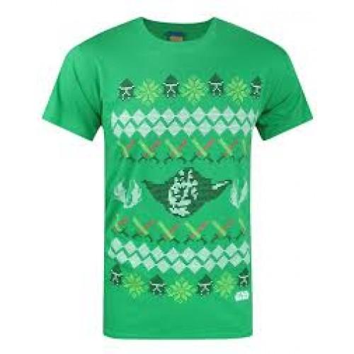 Star Wars Christmas T-Shirt Yoda