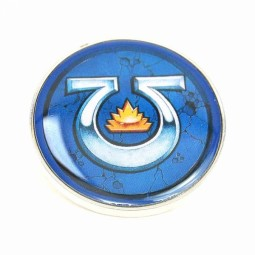 Warhammer Enamel Badge Ultramarines