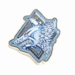 Warhammer Enamel Badge Space Wolves