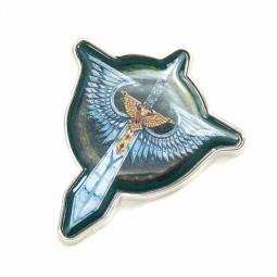 Waehammer Enamel Badge Dark Angels
