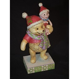 Disney Traditions Christmas Pooh and Piglet