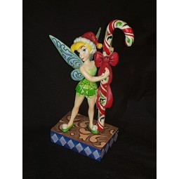 Disney Traditions Christmas Tink with Candy Cane