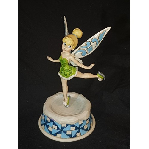 Disney Traditions Christmas Skating Pixie Tinker Bell