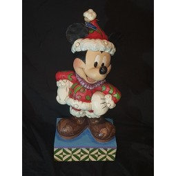Disney Traditions Large Merry Christmas Santa Mickey