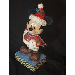 Disney Traditions Large Merry Christmas Santa Mickey