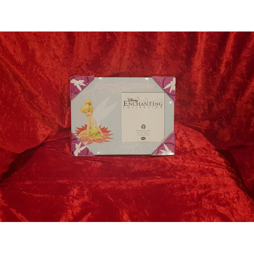 Disney Enchanted Merry Christmas Tinker Bell Photo Frame