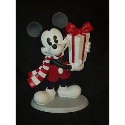 Disney Enchanted Mickey Mouse Christmas Figurine